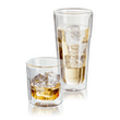 Judge Double Walled Glassware  Highball Glass Set,