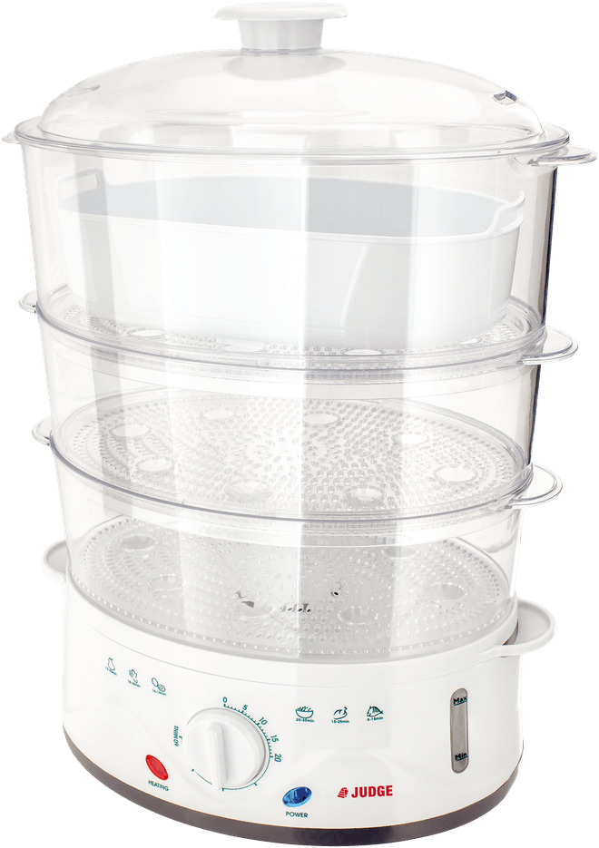 Judge Electricals 3 Tier Steamer Set