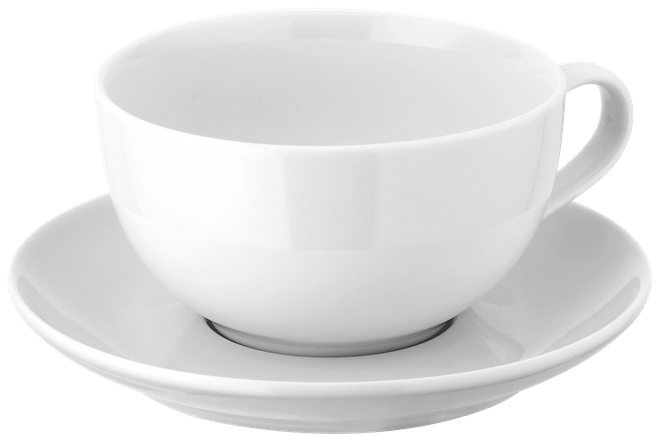 Judge Table Essentials  Cappuccino Cup & Saucer,