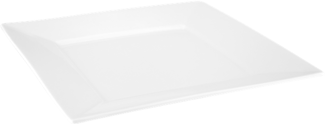 Judge Table Essentials  Square Dinner Plate,