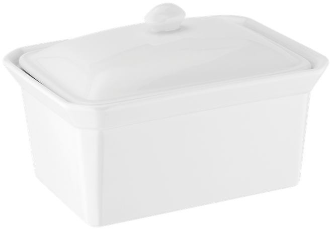Judge Table Essentials  Butter Dish,