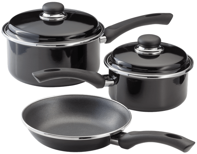 Judge Induction 3 Piece Cookware Set