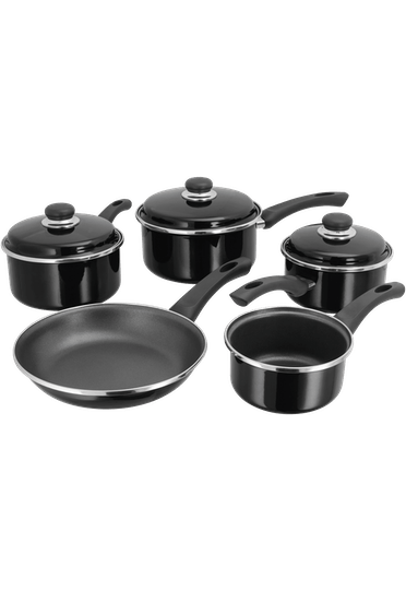 Judge Induction, 5 Piece Saucepan Set, Non-Stick,