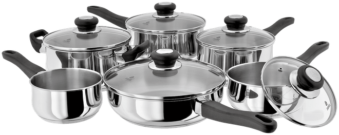 Judge Vista 6 Piece Saucepan Set