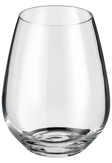 Judge Crystalline Glassware Stemless Wine Glass Set