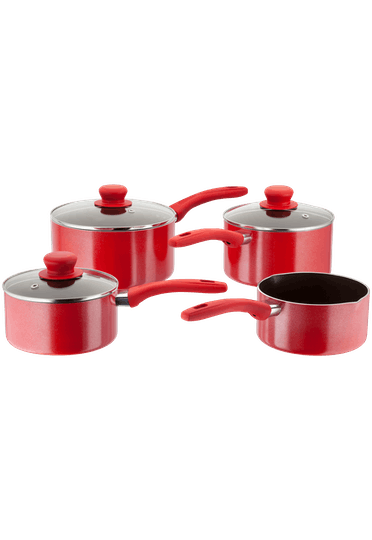 Judge Radiant Saucepan Set Non-Stick