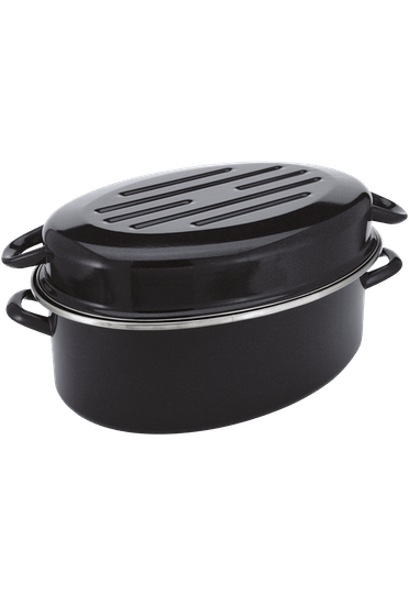 Judge Essentials Enamel Oval Roaster enamel