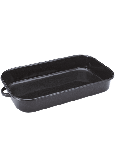 Judge Essentials Enamel Rectangular Roaster with Handles