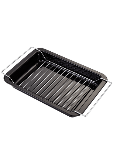 Judge Essentials Enamel Grill Tray with Rack