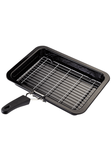 Judge Essentials Enamel Grill Tray with Rack & Handle