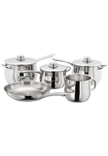 Stellar 1000 Deep 5 Piece Saucepan Set