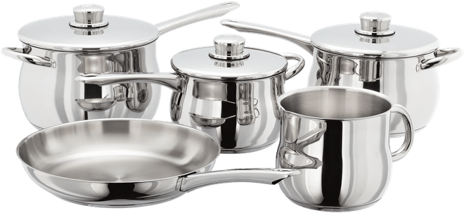Stellar 1000, Deep 5 Piece Saucepan Set