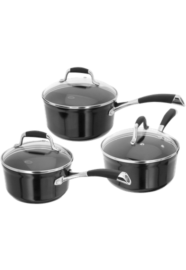 Stellar Forged 3 Piece Saucepan Set Non-Stick