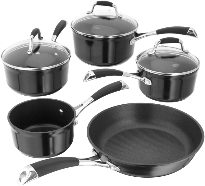 Stellar Forged  Saucepan Set, Non-Stick