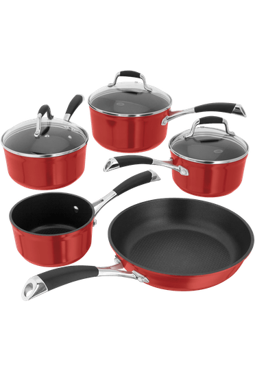 Stellar Forged Saucepan Set Non-Stick