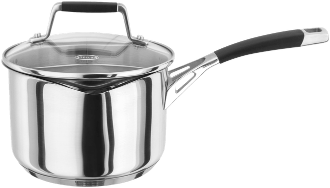 Stellar Induction Draining Saucepan