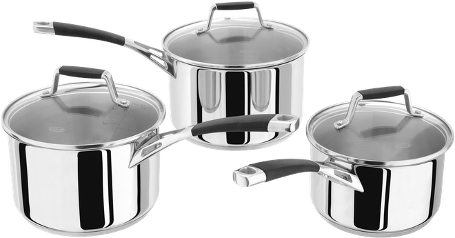 Stellar Induction  Saucepan Set,