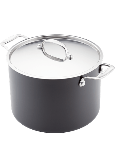 Stellar Hard Anodised Stockpot Non-Stick