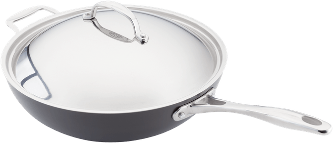 Stellar Hard Anodised Wok Non-Stick
