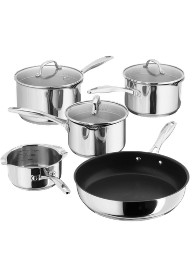 Stellar 7000 5 Piece Draining Saucepan Set