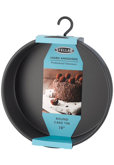 Stellar Hard Anodised  Round Cake Tin