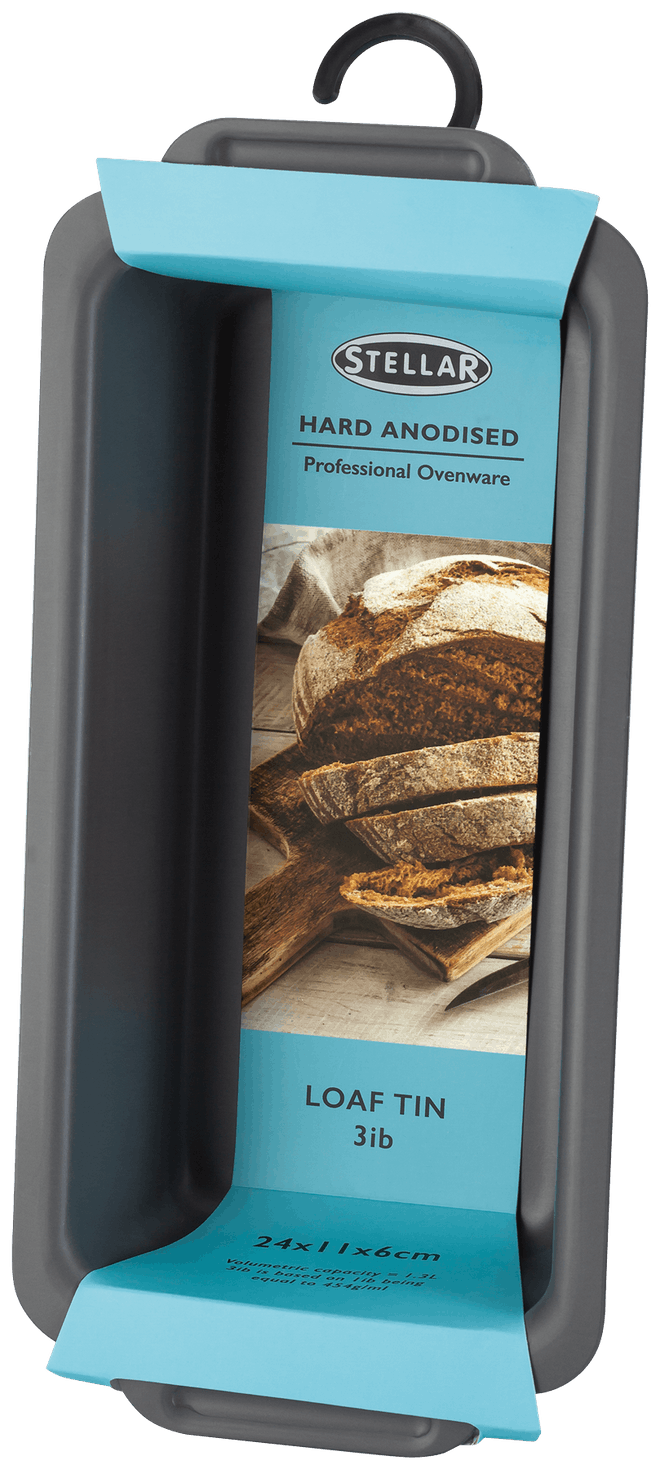 Stellar Hard Anodised Loaf Tin