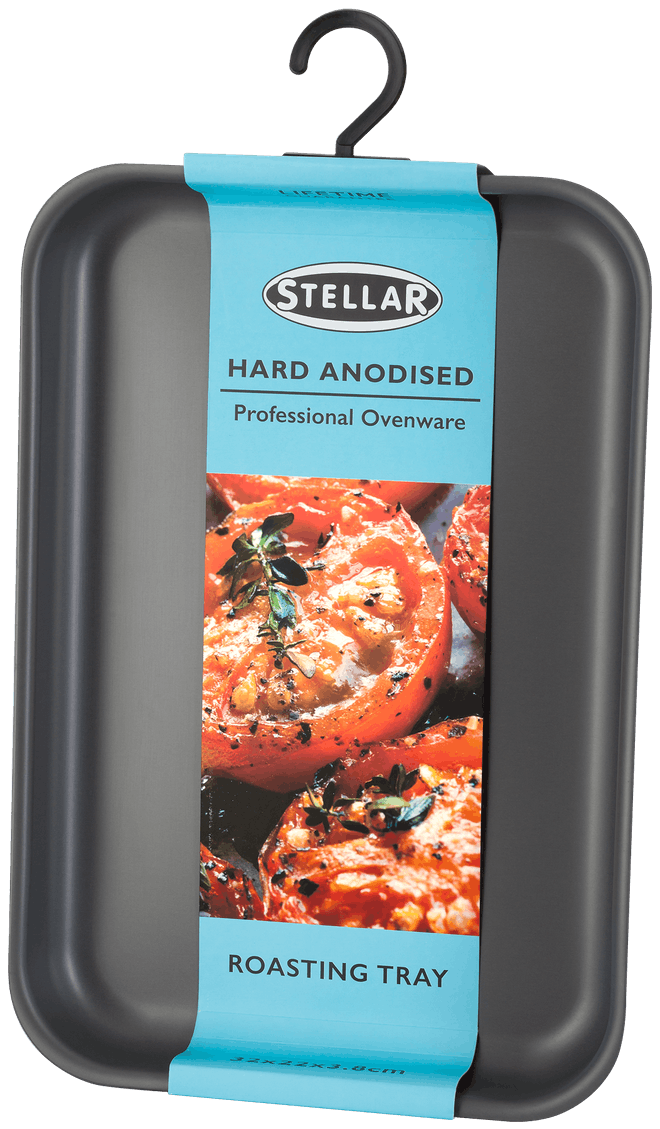 Stellar Hard Anodised Roasting Tray