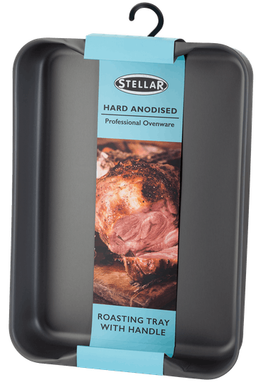 Stellar Hard Anodised Handled Roasting Tray