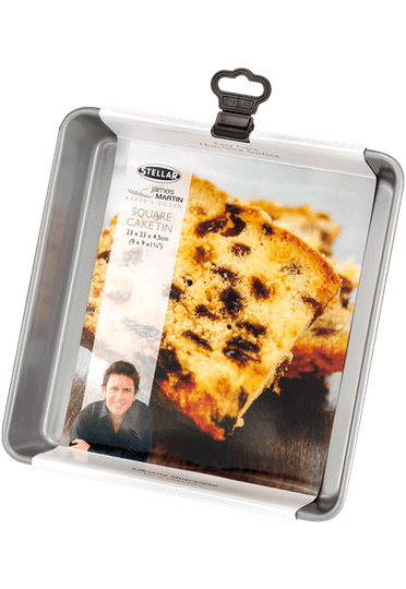 Stellar James Martin Bakers Dozen Square Cake Tin Non-Stick