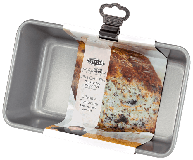 Stellar James Martin Bakers Dozen Loaf Tin, Non-Stick