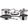 Stellar Stay Cool  Draining Saucepan Set, Non-Stick