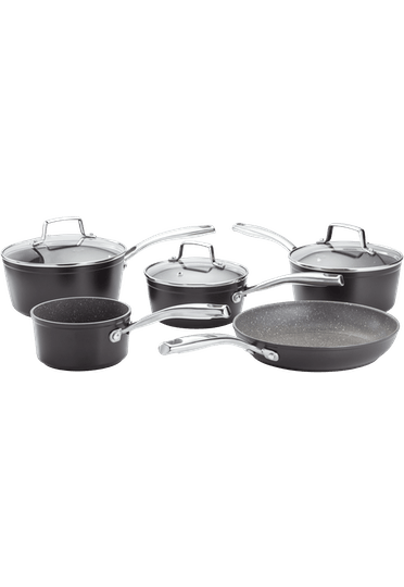 Stellar Rocktanium 5 Piece Non-Stick Pan Set