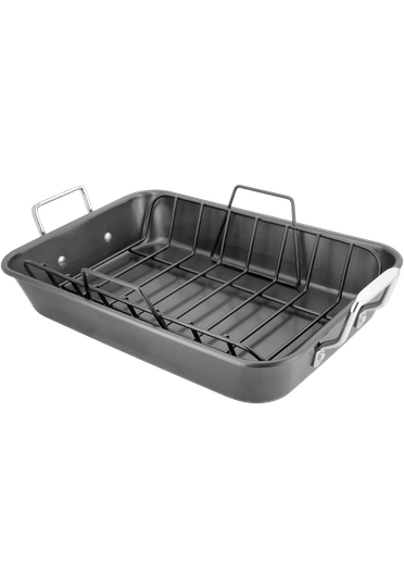Stellar Speciality Cookware Roast & Rack Non-Stick