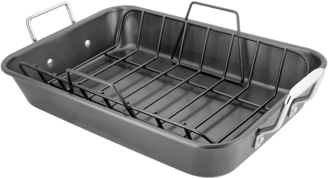 Stellar Speciality Cookware  Roast & Rack, Non-Stick