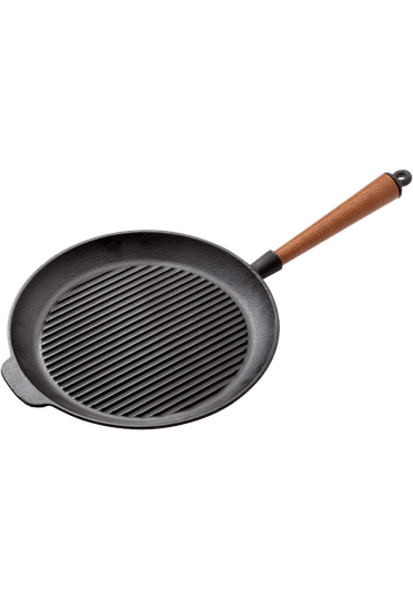 Stellar Cast Iron Grill Pan