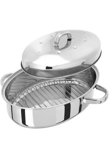Judge Speciality Cookware  Oval Roaster with Base