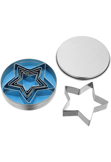Judge Bakeware Traditional Star Cutters