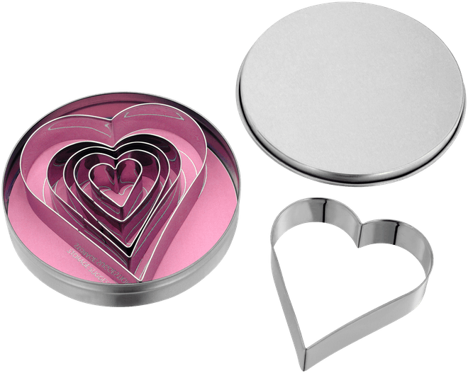 Judge Bakeware Heart Shape Cutters