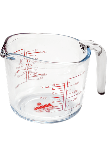 Judge Kitchen Glass Measuring Jug