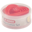 Judge Kitchen Heart Cutters